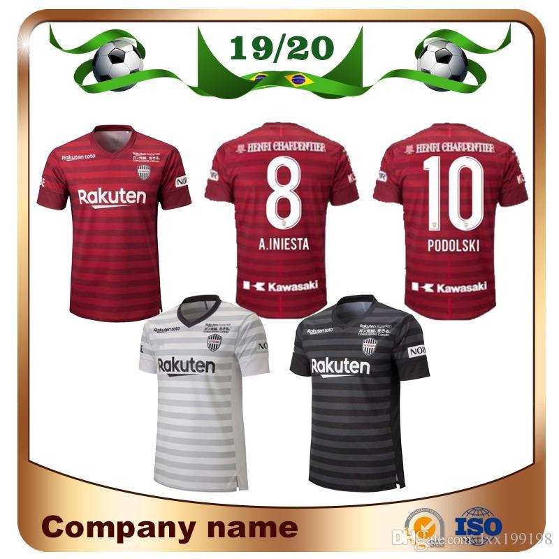 Satın Al Jleague Vissel Kobe Home Red Futbol Forması 2019 Deplasman