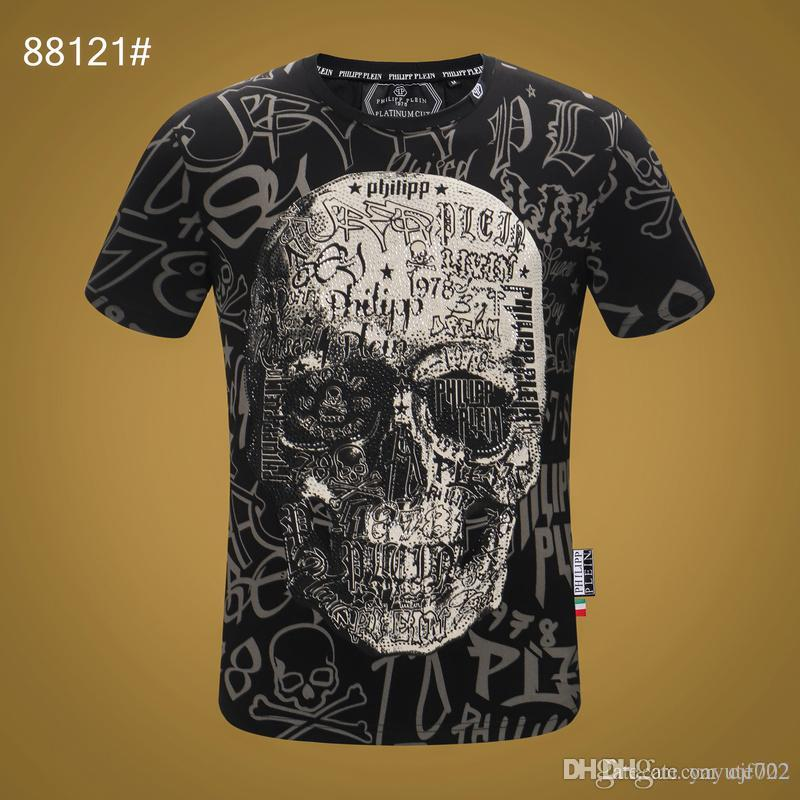 19ss Summer Men's Casual Print 3d T-Shirt Long Sleeve Camiseta Slim fit Personality splashed paint splash-ink tshirt 3D Pattern