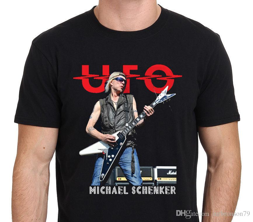 NEW Guitarist Michael Schenker logo T-Shirt MAN WOMAN Size S - 5XL