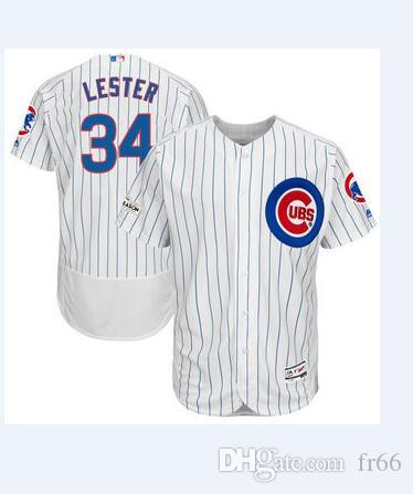 d132b07c6 2019 World Series Champion Chicago Cubs 34 Jon Lester Baseball Jerseys  Custom Sports Mlb Cheap Jersey Fashion Women Youth Men Wholesale 4xl UK  2019 From ...