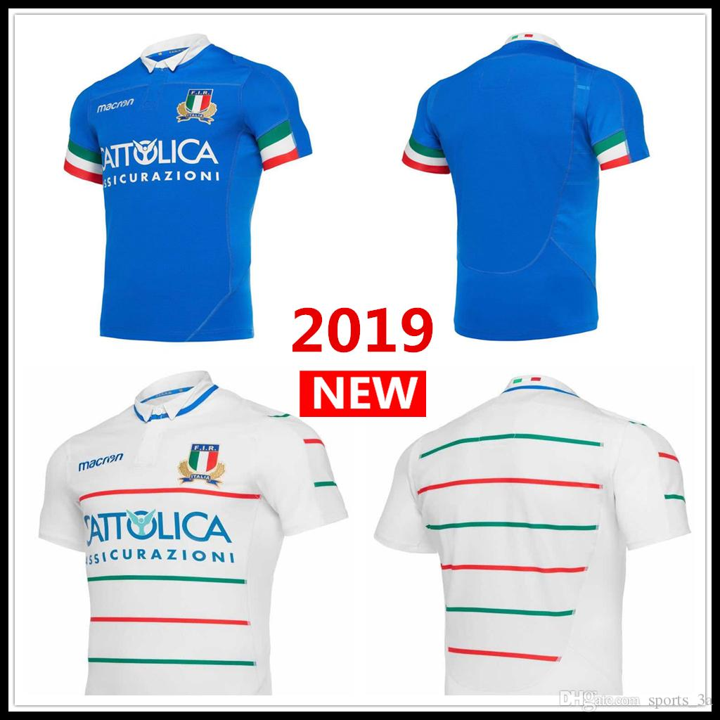 94ea553fca 2019 2019 2020 ITALIA Home Away Rugby Jerseys FIR Shirt ITALIA National  Team Italy League Jersey S 3XL From Sports 3a