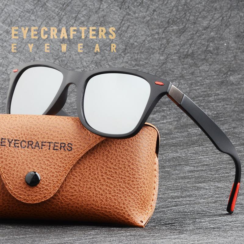 5deca43e53781 Fashion Classic HD Polarized Sunglasses Men Women Driving Silver Mirrored  Coating Sun Glasses For Men Eyewear Gafas De Sol Online Eyeglasses Discount  ...