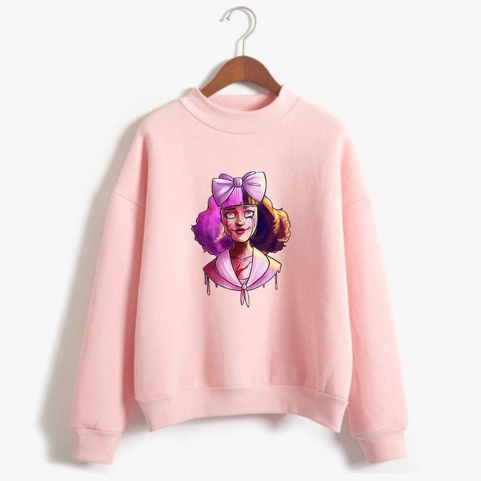 buy online 9e53c d9af3 CRY BABY Divertenti Felpe Donna Uomo Chic Felpe con cappuccio Streetwear  Harajuku Hip Pop Dolcevita Vestiti
