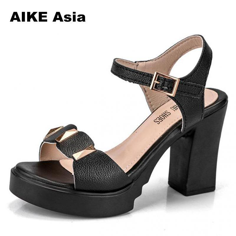 0a45b5a2d34 Designer Dress Shoes 2019 Summer Hollow Women S European And American Fight  Color Fish Mouth Fine With High Heels Super High Peep Toe  603 Basketball  Shoes ...