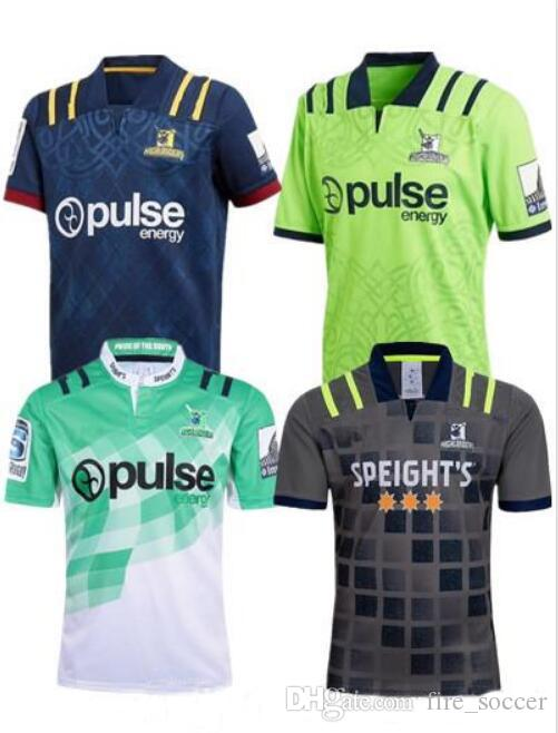 d1334f469f3 2019 2018 New Zealand Super Rugby Jersey Blues Chiefs Crusaders Highlanders  Hurricanes Home Away Football Jerseys Size S 3XL From Fire_soccer, ...