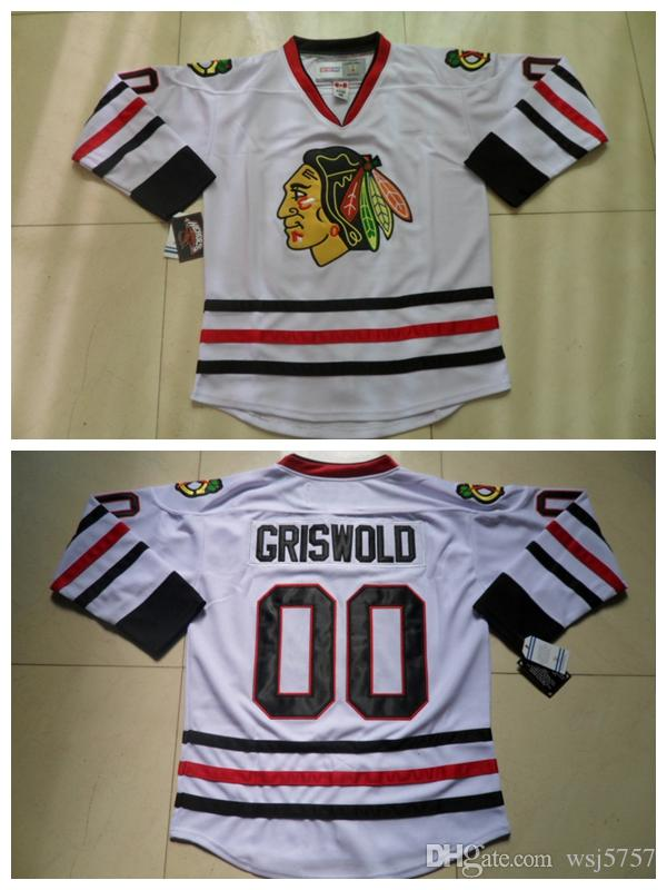 2019 Men S Chicago Blackhawks 00 Clark Griswold Jersey White Vintage CCM  Moive National Lampoon S Christmas Vacation Stitched Hockey Jerseys From  Wsj5757 923f810f0