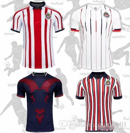 brand new 290f3 8f9f2 2019 chivas soccer jersey Camisetas de fútbol Liga MX chivas guadarajara  home away third mens football shirts
