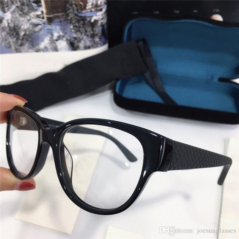 7b7cfad15b Compre Nuevo Diseñador De Moda Gafas Ópticas Cat Eye Ultra Light Frame  Lente Transparente Con Estuche Puede Hacer Lentes De Prescripción A $50.77  Del ...