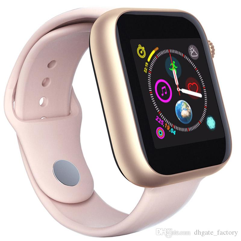 For apple iphone Z6 Sport Smart Watch Bluetooth 3 0 With Camera Touch  Screen 1 54 inch PK Q3 Q9 Support Android Phone Sim TF Card