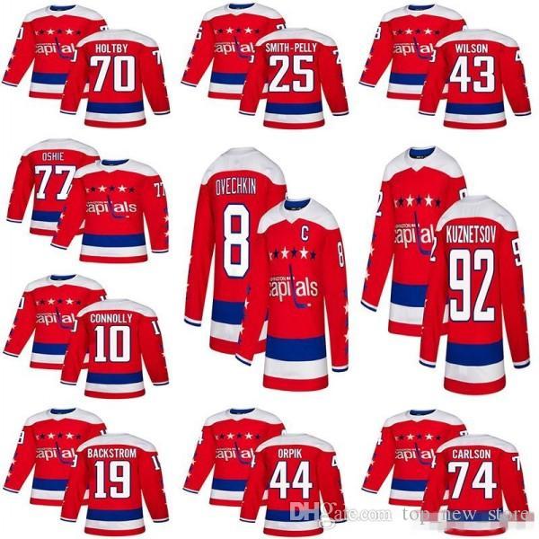 b87f4593d 18-19 Stanley Cup Champions Washington Capitals Hockey 8 Alex ...