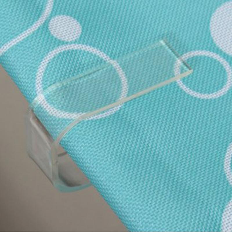 Clips De Toalha De Mesa de Plástico Transparente Clamps Holder Festa de Casamento Tampa de Mesa Grampos Prático Decoração Do Partido Suprimentos