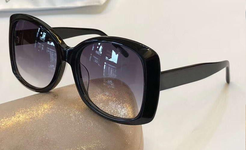 5106903e39 Compre Mujeres 4811 Gafas De Sol Cuadradas Negras / Grises Sombreadas Gafas  De Sol De Lujo Uv 400 Gafas De Protección Al Aire Libre De Calidad Superior  ...