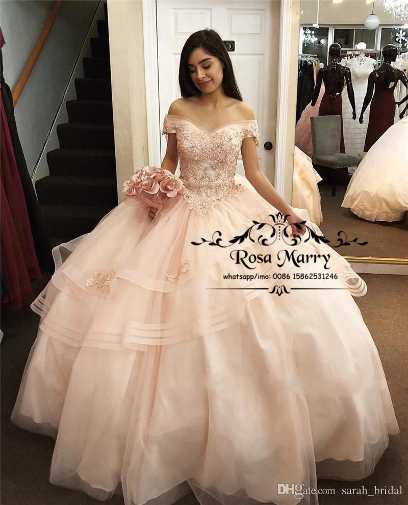 Discount One Shoulder Vintage Quinceanera Dresses 2019 Maquerade Ball Gowns Sweet 16 Dresses Vestidos De 15 Anos Customized A Complete Range Of Specifications Weddings & Events