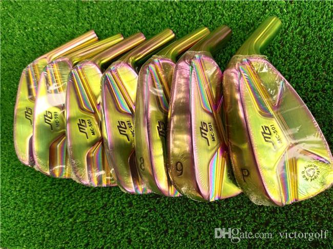 7PCS Golf Clubs MiURA MG MC-501 Forged Irons Aaron MiURA Golf Forged Irons 4-9Pw Steel Shaft With Head Cover