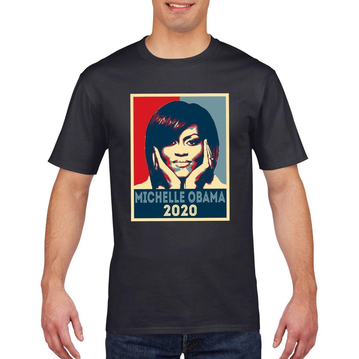 fd1d5279 Michelle Obama 2020 T Shirt America Election President Trump USA T Shirt Tee  809 Tee Shirts Mens T Shirts From Yuxin0010, $17.25  DHgate.Com