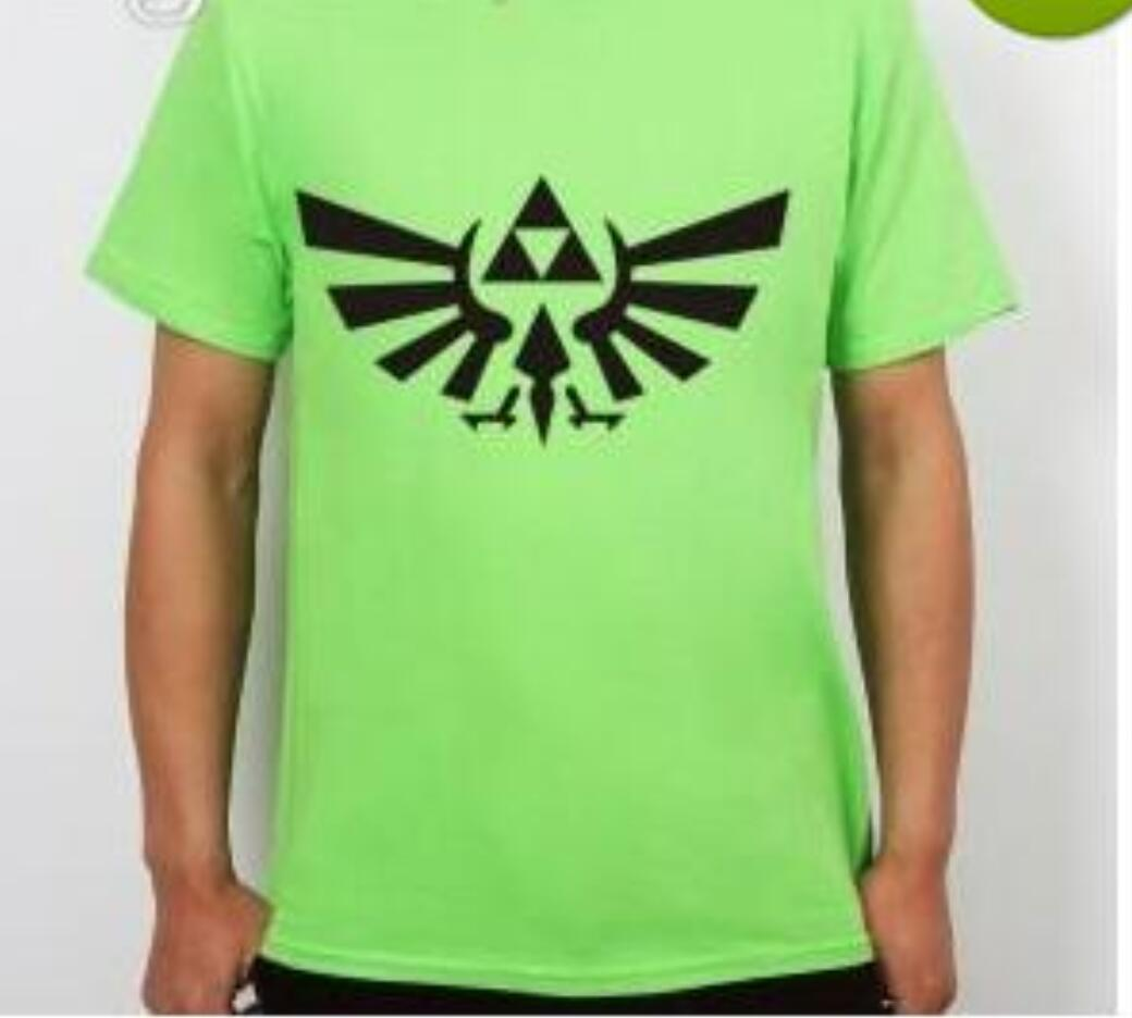 08643727d The Legend Of ZELDA Triforce Logo Game Mens Men Fashion T Shirt 2016 Short  Sleeve Cotton T Shirt Tee Camisetas Hombre T Shirt Prints T Shirt Designing  From ...
