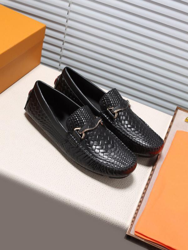 {Original Box}Fashion Men Doug LowCut Loafers Casual Shoes Gommino 100% Genuine Leather Designer Drive Party Wedding Dress Shoes SZ38-45 we