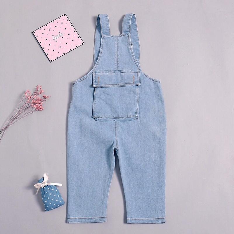 05096e363bb98 Acheter Nouveau Enfants Denim Salopette Enfants Pantalons Garçons Et Filles  Casual Jeans Pantalon Pour Enfant Enfants Fille Taille Haute Jeans Long  Pantalon ...