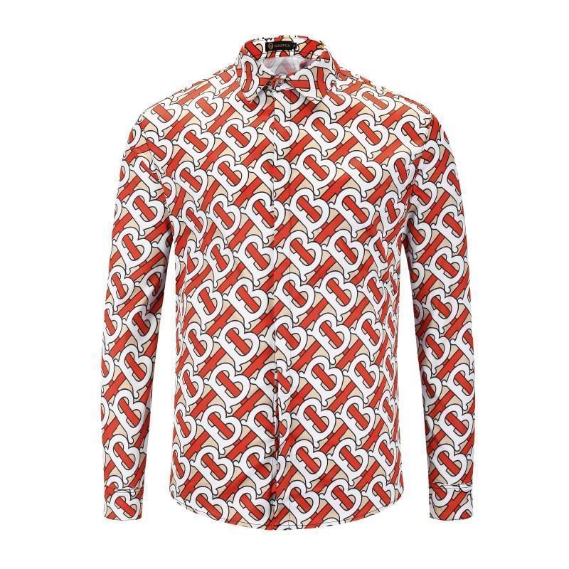 new style 27338 ad696 Camicia da uomo di marca di alta qualità piacevole Camice di moda da uomo  Camicie di cotone manica lunga casual Camicia 2D di progettazione XMH8156