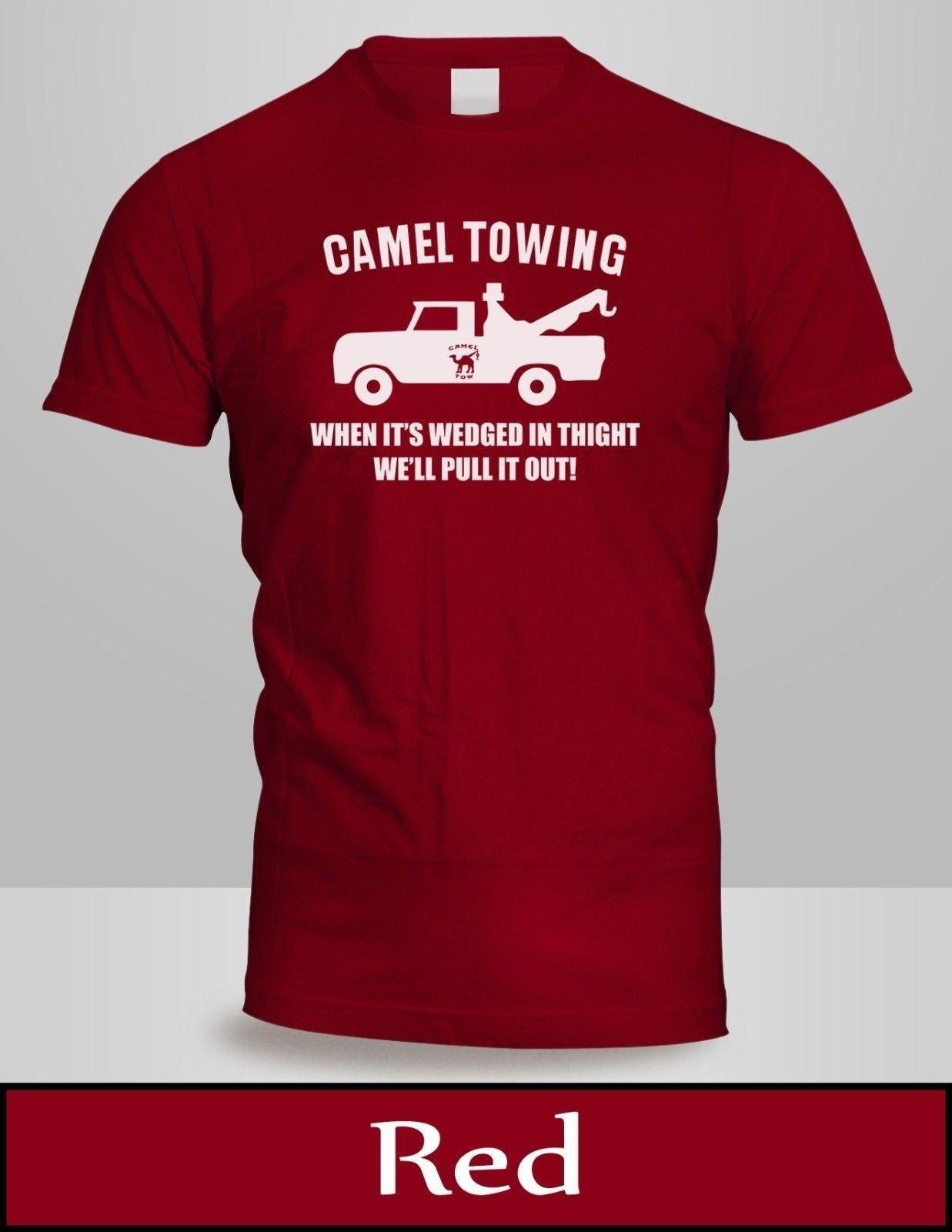 c897a8e6 Camel Towing T Shirt Mens Top Red Tow Service Toe College Humor Cool Tee  New 2 Comfortable Fabric Short Sleeve Men ,T Shirt O Neck Knitted T Shirt  Awesome ...