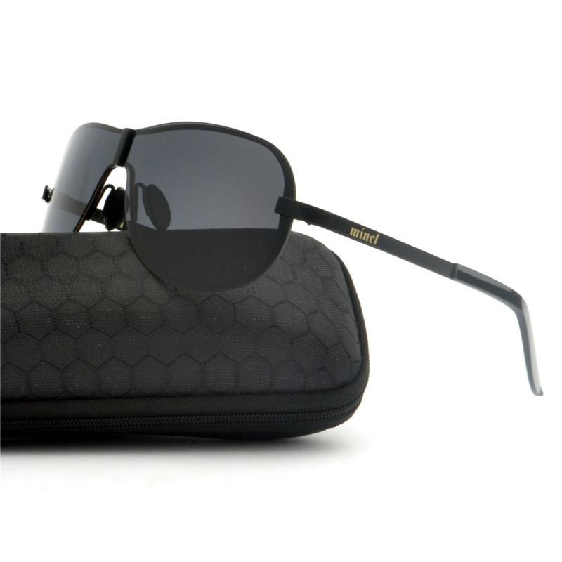 13283eb3b 2019 New Men Polarized Sunglasses Polarized Oversized Metal Frame ...