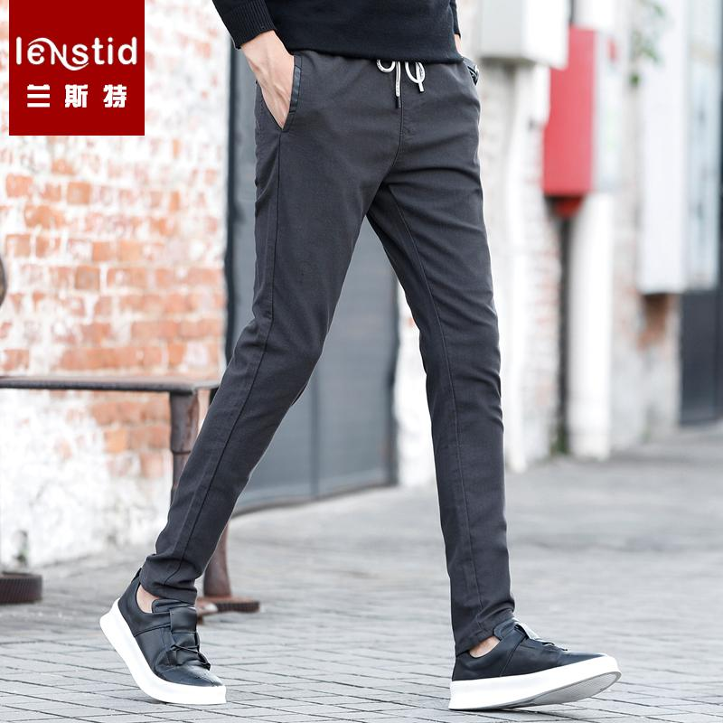 3f813f13aeb LENSTID 2019 Spring Winter New Drawstring Causal Pants Men Slim Fit Plus  Size High Quality Trousers High Quality Brand Clothing UK 2019 From  Cantury