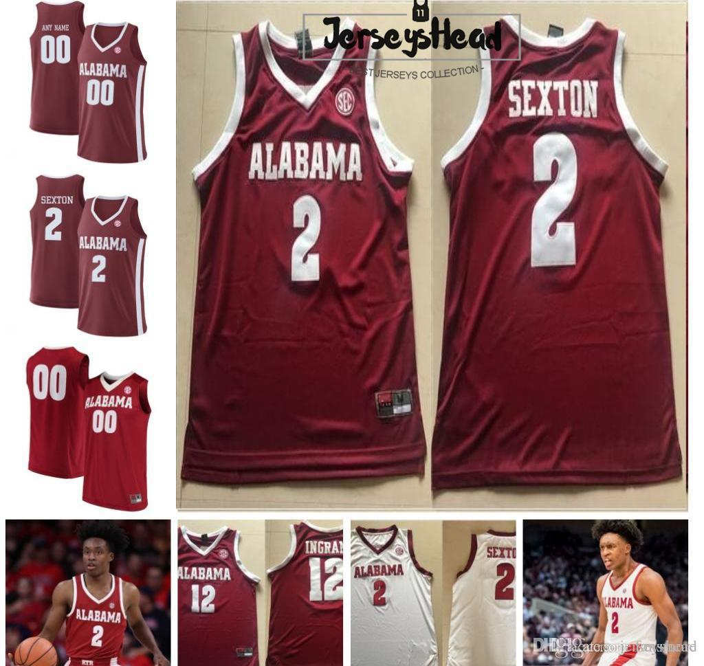 half off 3f3f3 8be0d Mens Cheap #2 Sexton NCAA Jersey Best Quality Red White Stitched College  Basketball Jerseys Free shipping