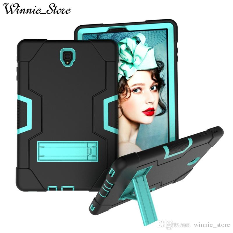 For Samsung Galaxy Tab S4 10.5 T830 Shockproof Protector Case 3 in1 Robot Defender Hybrid Silicon Kickstand Cove
