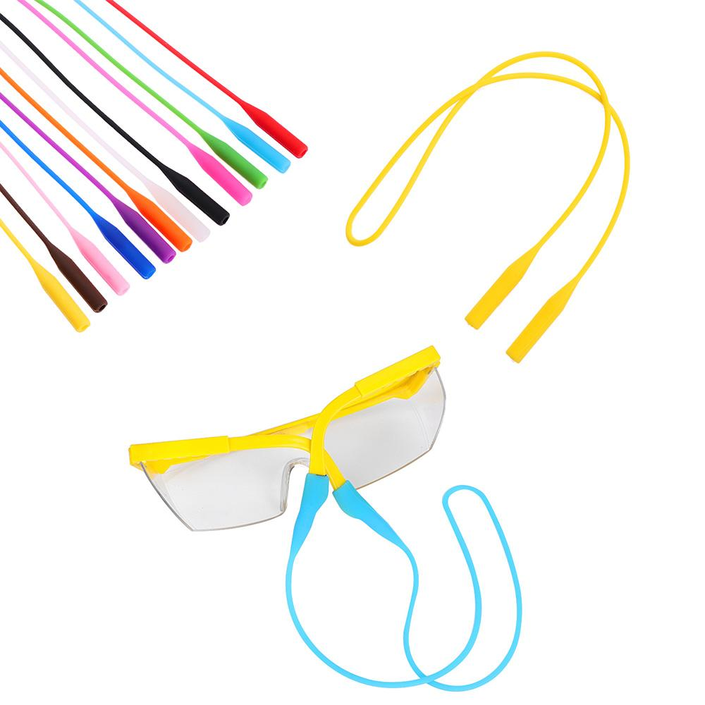 09d867ba43d 2019 Adjustable Silicone Eyeglasses Straps Glasses Sunglasses Chain ...