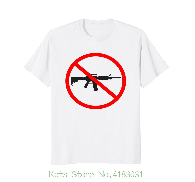 Anti Gun Gun Control T Shirt Printed T Shirt Men S Short Sleeve O