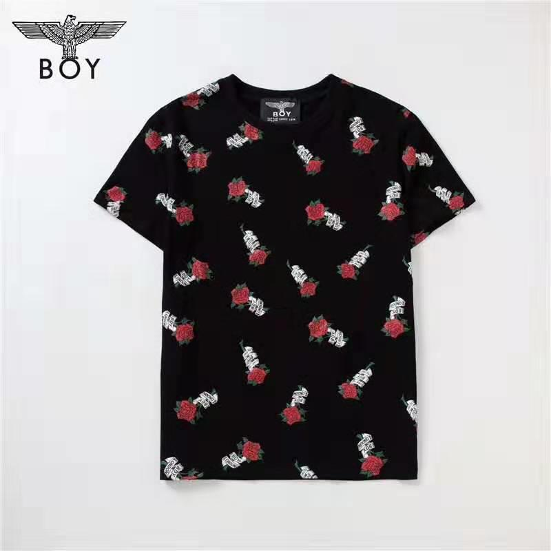 Summer Designer T Shirt Flower Embroidery For Men Casual Brand Breathable Tees For Men Fashion Style Short Sleeves Luxury Streetwear T Shirt
