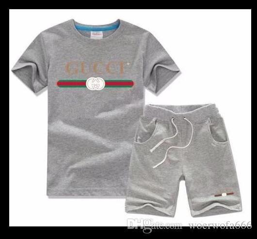 1c8a059e7 ZZ66 Kids Sets Kids T-shirt And Pant Children Cotton Sets Baby Boys ...