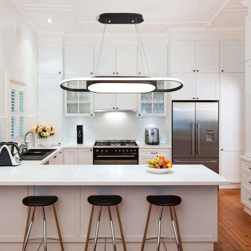 Compre lican luces colgantes modernas para cocinas de - Luces de cocina ...