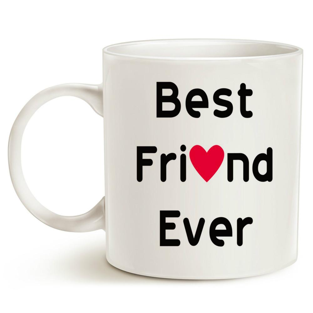 Christmas Gifts Best Friend Coffee Mug For Ever Unique Or Birthday Idea Porcelain Cup Customized Photo Mugs