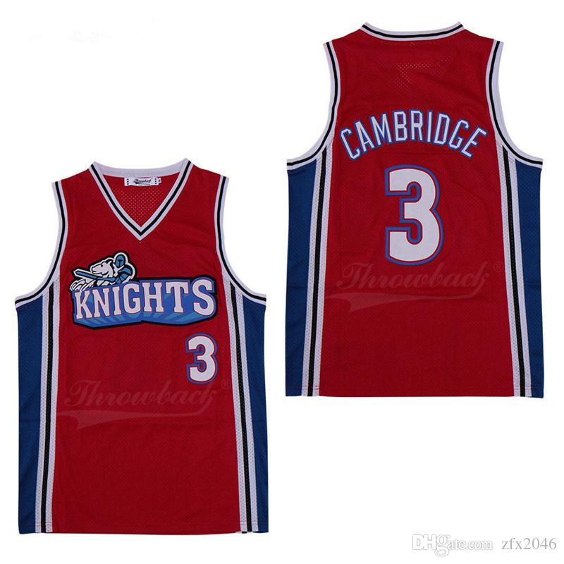 reputable site 25800 e2ad4 #3 Cambridge Men s Basketball Jerseys #6 Yosemite James #23 embroidered  Stitched logos Space Jam Jersey Movie Tune Squad