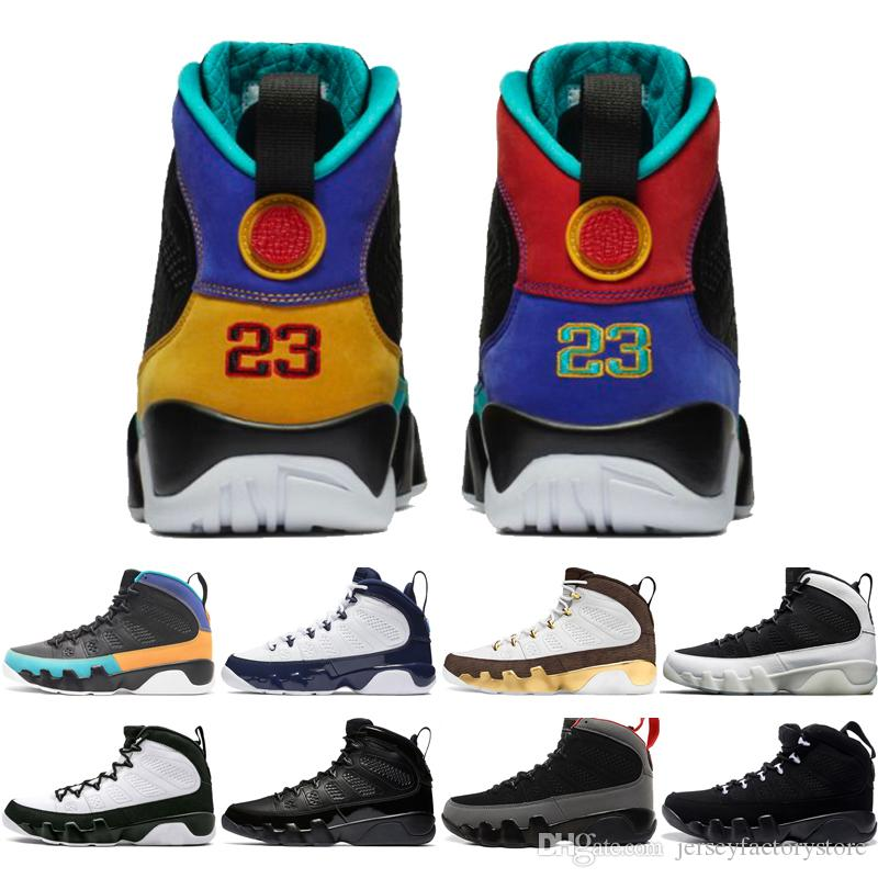 594daae2cdd18c Hot 9 9s Dream It Do It UNC Mop Melo Mens Basketball Shoes LA OG Space Jam  Men Bred The Spirit Anthracite Sports Sneakers Designer Trainers Sports  Shoes ...