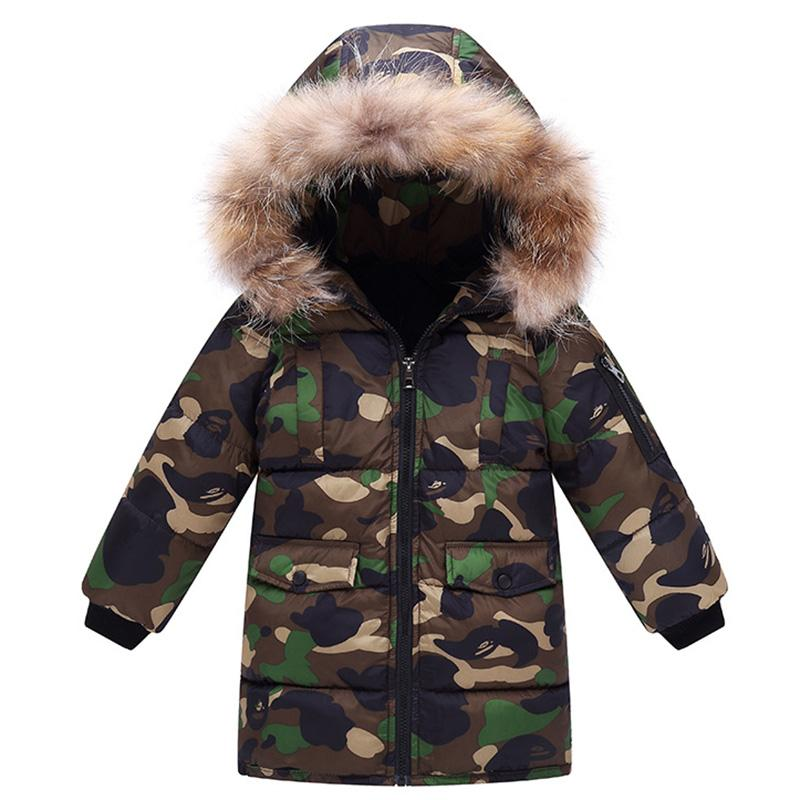 2bf4a4843 Boys Winter Jacket Kids Coat 10 Years Toddler Boys Coats for Winter ...