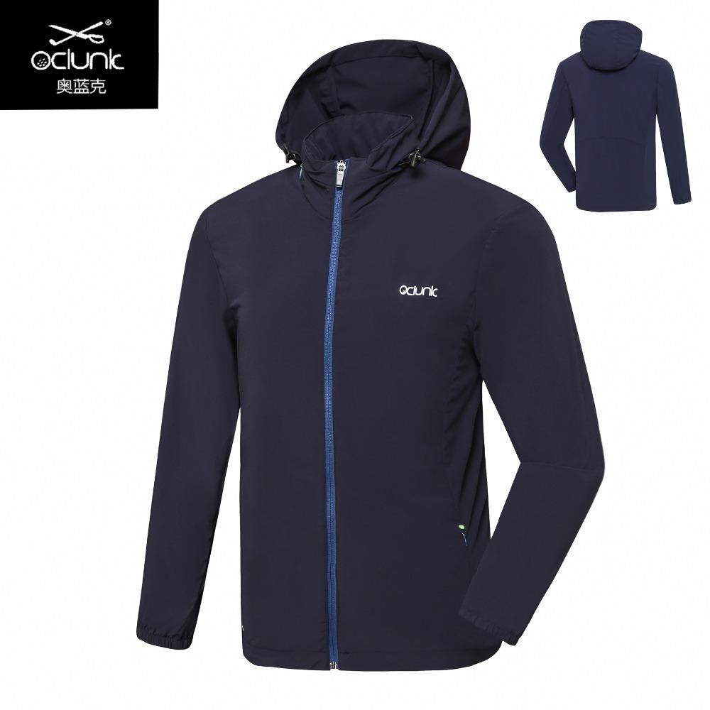 Acquista 2018 New OLUNK Golf Uomo Abbigliamento Autunno Inverno Uomo Giacca  Con Cappuccio Antivento Manica Lunga Cappotto Sportivo Da Golf In  Esecuzione ... 9399036f1e6
