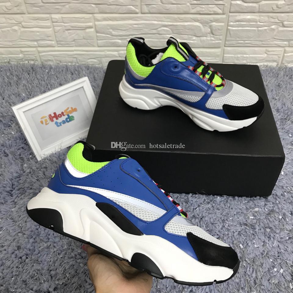 wholesale dealer 593d5 76a88 B22 Sneakers Uomo Donna B22 Scarpe da corsa Mens Scarpe da ginnastica Moda  Retro Patchwork Luxury Running Sneaker all ingrosso