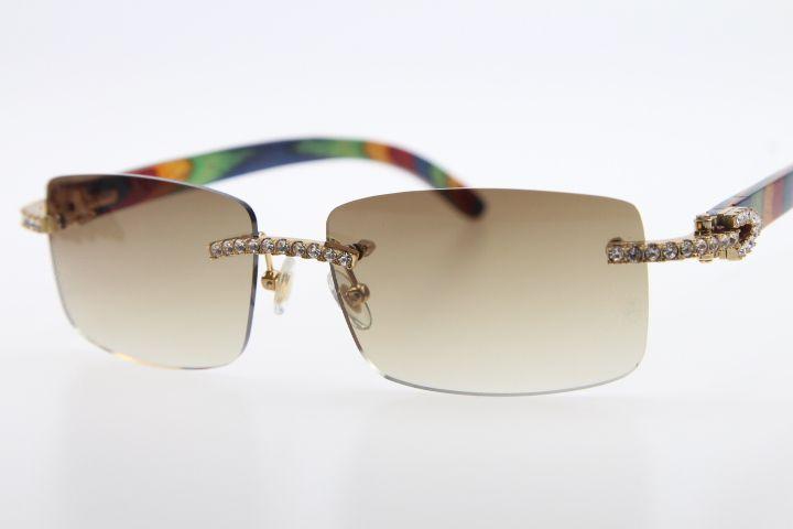 73e9c7776c7 2019 Wholesale High End Brand Hot Glasses New 3524012 Diamond ...