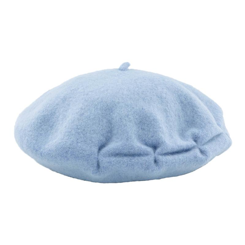 6e9ae2fa3d75f DOUBCHOW Women s Pleated Artist Wool French Berets Hats Solid Color ...