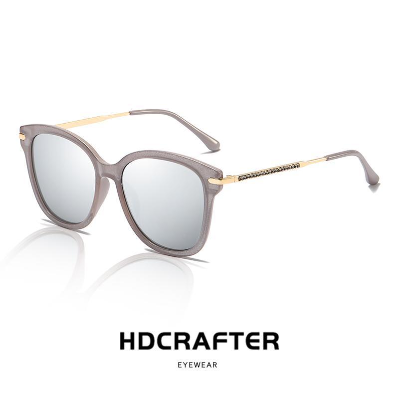 5738cbb5b1c5 Fashion Polarized Sunglasses Womens Luxury Brand Designer Vintage Sun Glasses  Female Flower Oversized Shades Eyewear UV400 Designer Sunglasses Sunglasses  ...