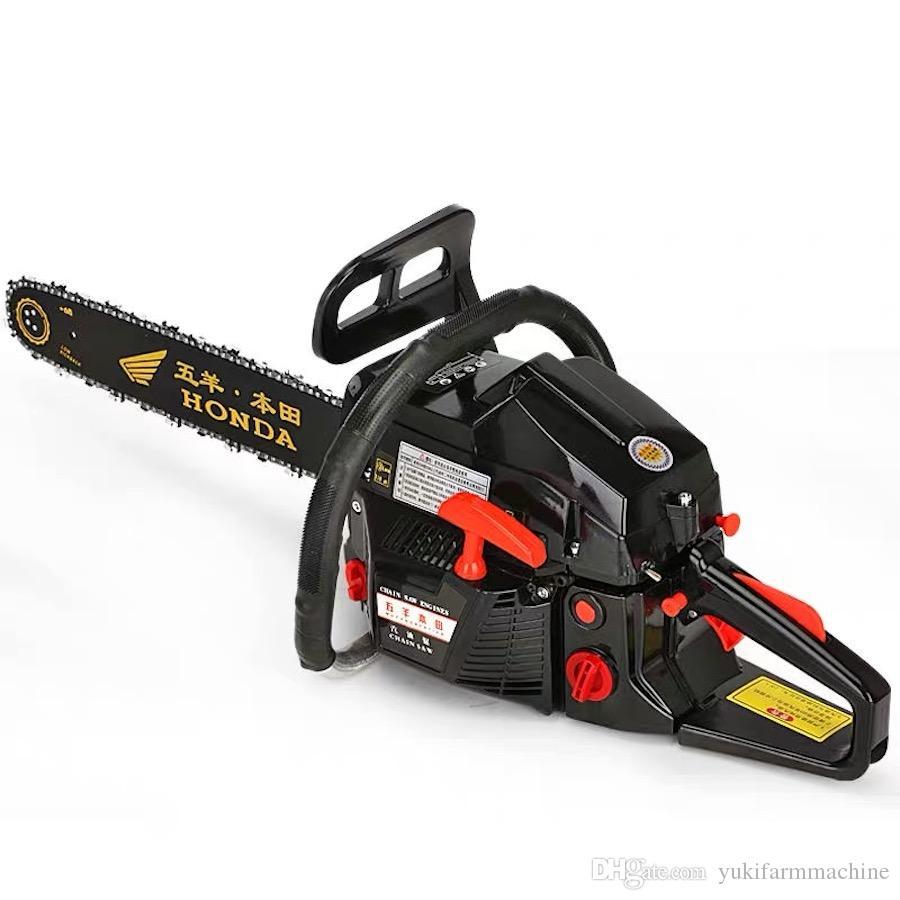 9880 Petrol Chain Saw Wood Cutting Machine Power Chainsaw Gasoline Log Cutting Saw Chinese Tree Cutting Saw