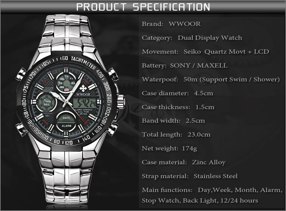 6b103a9cf Mens Watches Top Brand Luxury Quartz Analog LED Digital Sports Watch Men  Gold Military Wrist Watch Male Clock Relogio Masculino Buy A Watch Online  Watch ...