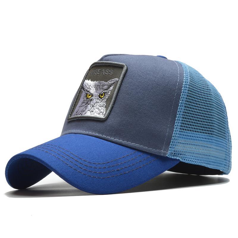 Compre 2019 Moda Para Hombre Gorra De Béisbol De Las Mujeres Del Verano  Gorra De Malla Bordado Animal Snapback Hat Hip Hop Patrón Casquette Femme A   34.12 ... 7f92a5089cc