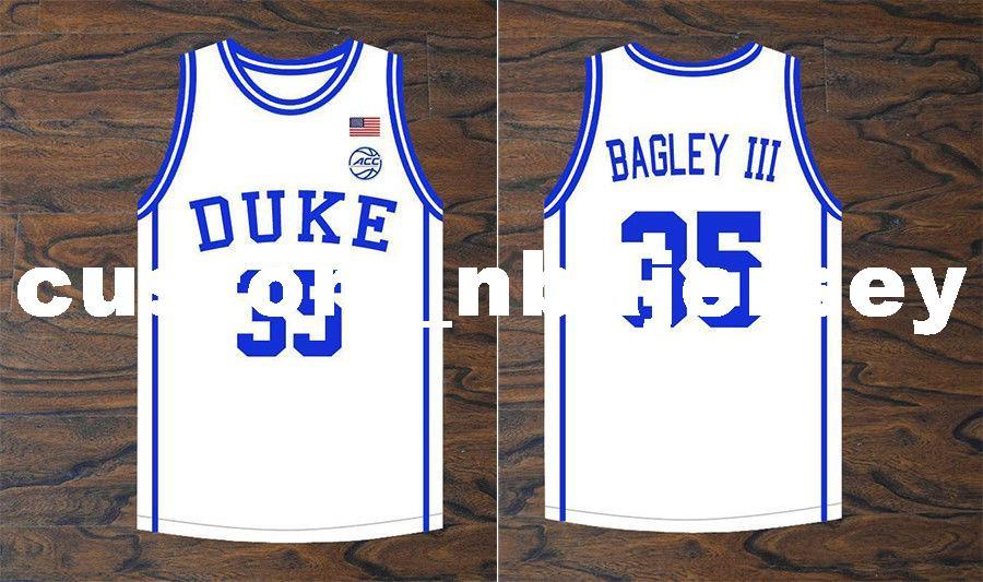 15f109403f2 2019 Cheap Custom Marvin Bagley III  35 Duke Blue Devils Basketball White  Jersey Stitched Stitch Customize Any Number Name MEN WOMEN YOUTH XS 5XL From  ...