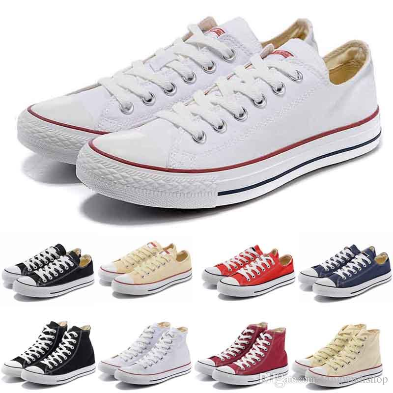 5249716617 New Star Big Size 35-45 Casual Shoes Low High Top Style Sports Stars Chuck  Classic Canvas Shoe Sneakers Men's/Women's Canvas Shoes Flat shoe
