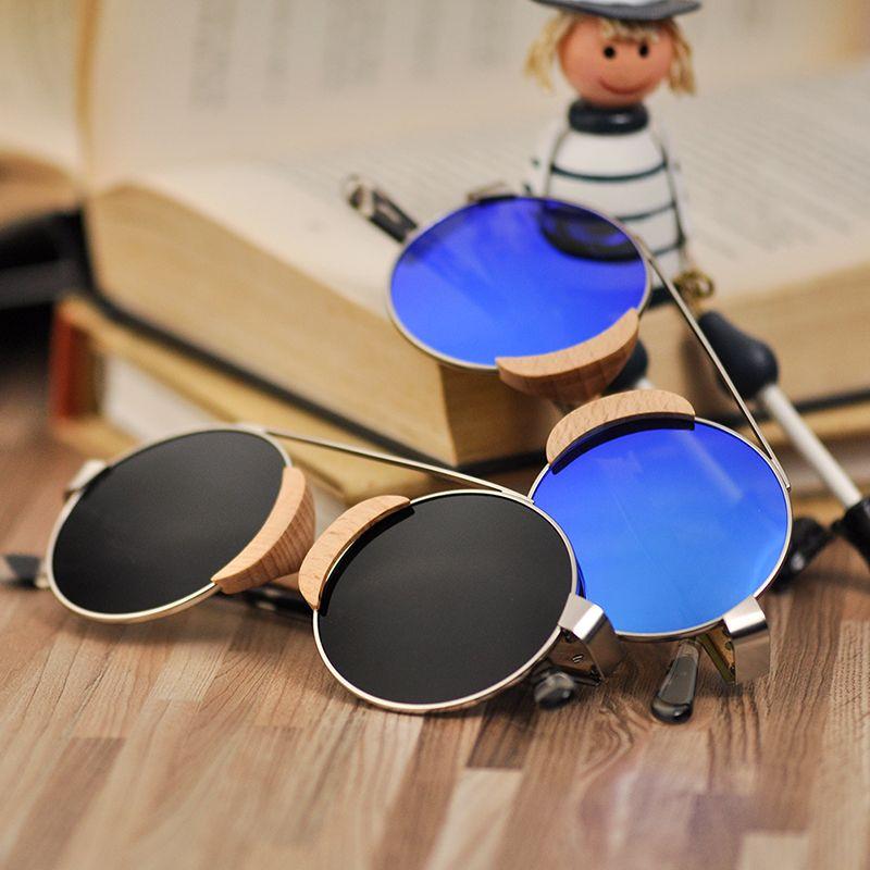 bc0428f821f5c Compre BOBO PÁSSARO Verão Estilo Vintage Óculos De Sol Das Senhoras Óculos  Gafas De Sol Óculos De Viagem UV 400 Em Caixa De Presente De Madeira De ...