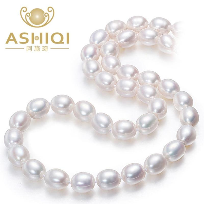 Wholesale Jewelry & Accessories ASHIQI Real White Natural ...