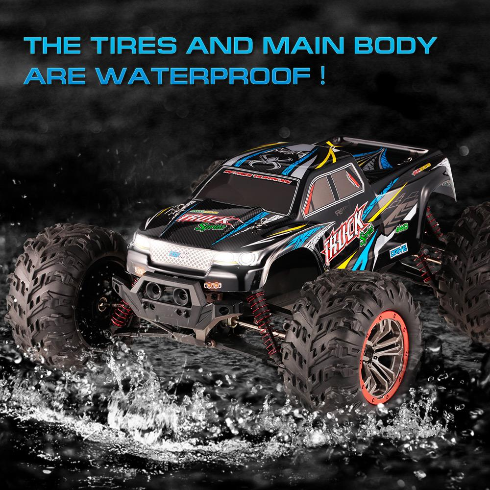 8482ca6963ba XINLEHONG TOYS RC Car 9125 1 10 RC Cars 2.4GHz 4WD 46km H High Speed Remote  Control Short Course Waterproof US Plug Car Rc Electric Remote Control Cars  From ...